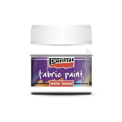 Pentart textilfesték fehér 50 ml