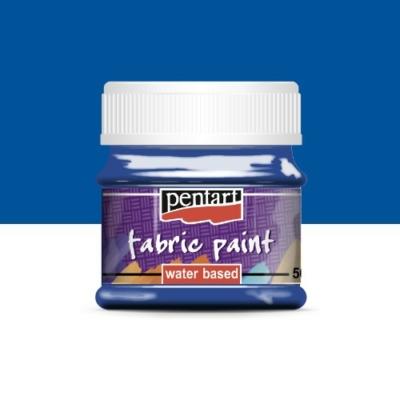 Pentart textilfesték kék 50 ml