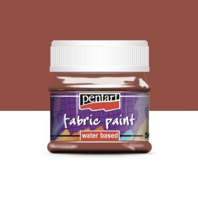 Pentart textilfesték sötétbarna 50 ml
