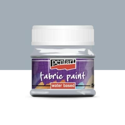 Pentart textilfesték szürke 50 ml
