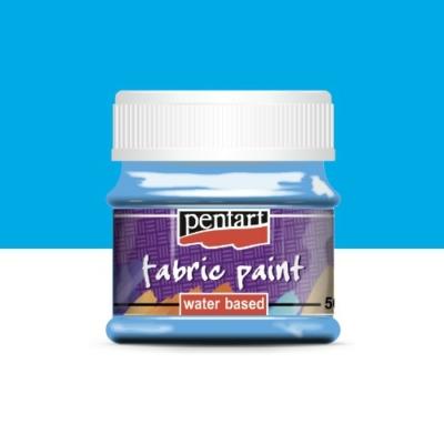 Pentart textilfesték világoskék  50 ml