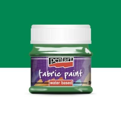 Pentart textilfesték zöld 50 ml