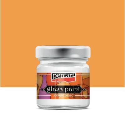 Pentart üvegfesték oldószeres narancs 30 ml
