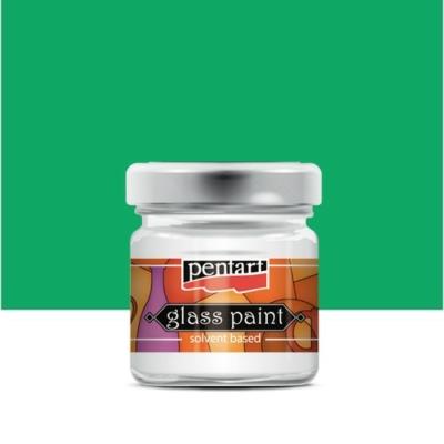 Pentart üvegfesték oldószeres zöld 30 ml