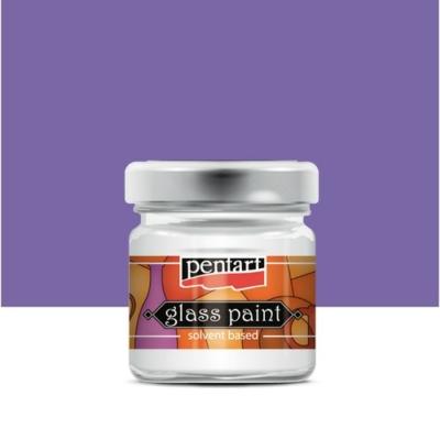 Pentart üvegfesték oldószeres lila 30 ml