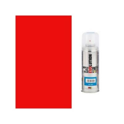 Pinty Plus Evolution akril spray 3020 Traffic red