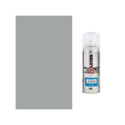Pinty Plus Evolution akril spray 7042 Traffic grey