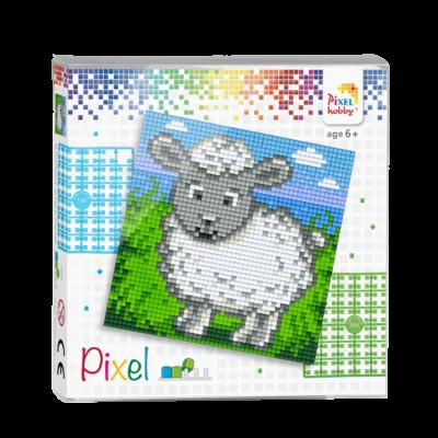 Pixel szett 4 alaplapos bari 12x12 cm (4 alaplap+20 szín)