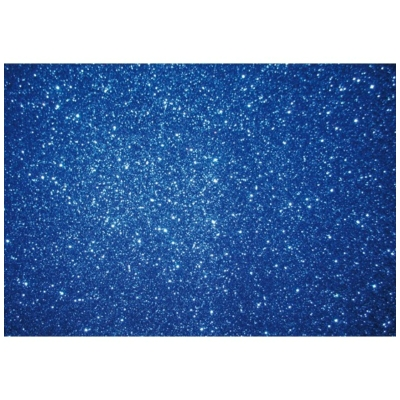csillámos dekorgumi 2 mm A4 kék
