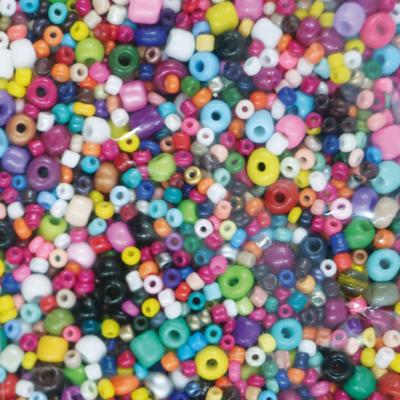 Kásagyöngy vegyes szín és méret 2-4 mm 500 g