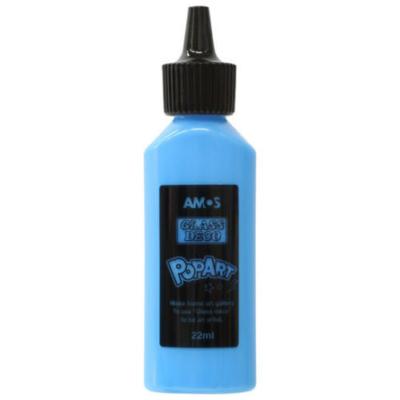 Üvegmatrica festék kék 22 ml telt