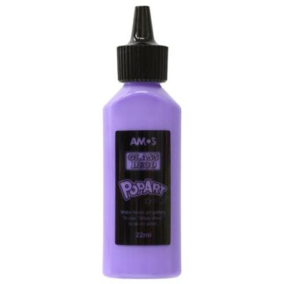 Üvegmatrica festék lila 22 ml telt