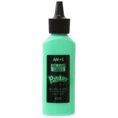 Üvegmatrica festék zöld 22 ml telt