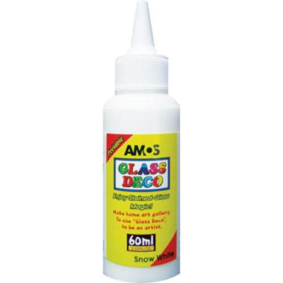 Üvegmatrica festék hófehér 60 ml
