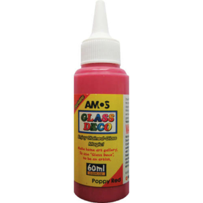 Üvegmatrica festék piros 60 ml