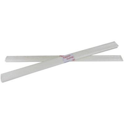 Krepp papír gyöngyház fehér 50x200 cm