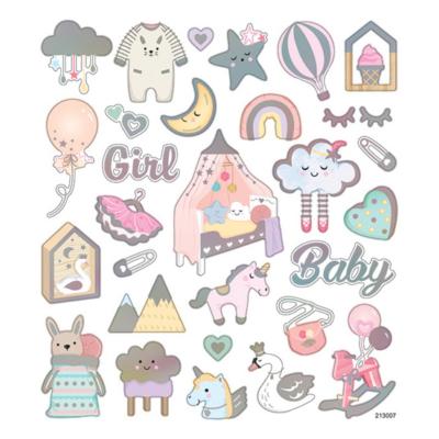 Matrica baby girl 15x22