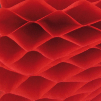 Méhsejtpapír piros 25x35 cm