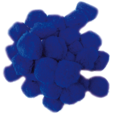 Pompom kék 30 mm 30 db