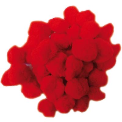 Pompom piros 30 mm 250 db