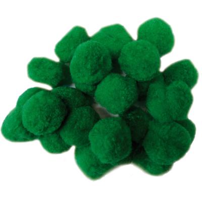 Pompom zöld 30 mm 30 db