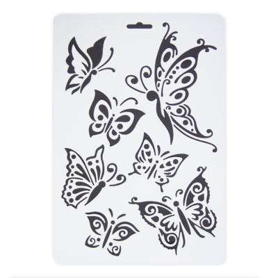 Stencil pillangó A/4
