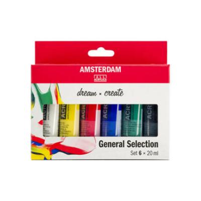 Talens Amsterdam Akrilfesték készlet 6×20 ml