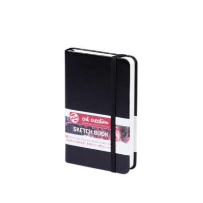 Art Creation vázlatfüzet fekete 140 g 9×14 cm 80 lap