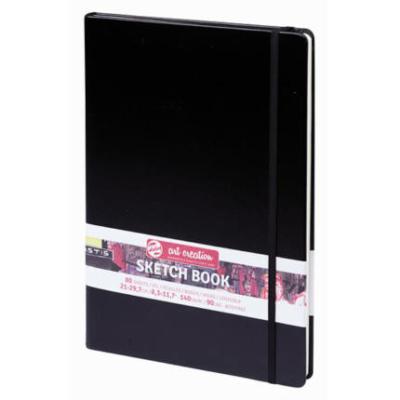 Art Creation vázlatfüzet fekete 140 g A/4 80 lap