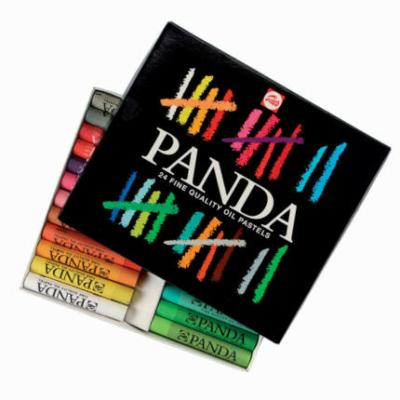 Panda olajpasztell kréta készlet 24 db-os