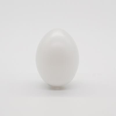 Műanyag tojás fehér 6 cm