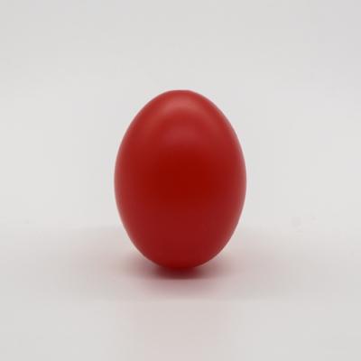 Műanyag tojás piros 6 cm