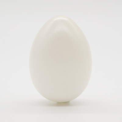 Műanyag tojás fehér 9 cm