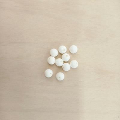 Préselt papírgolyó fehér 11 mm 10 db
