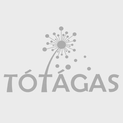 Tavaszi selyemvirág csokor 15 cm fehér