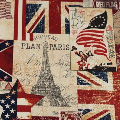 Pamutvászon angol zászlós