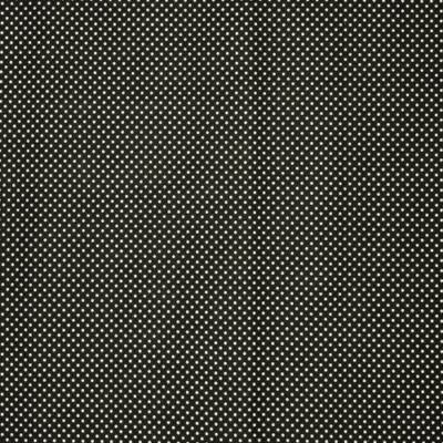 Pamutvászon fekete alapon fehér pöttyös