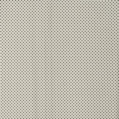 Pamutvászon fehér alapon fekete pöttyös