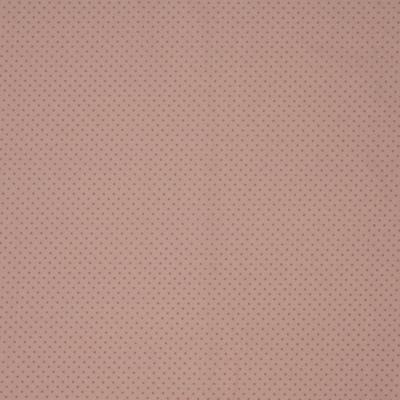 Pamutvászon rózsaszín alapon pink pöttyös