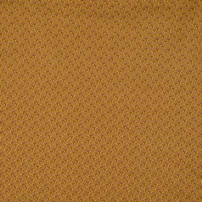 Pamutvászon dohánylevelek drapp alapon barna-sárga