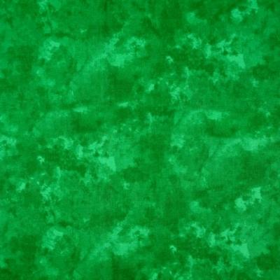 Pamutvászon batikolt zöld