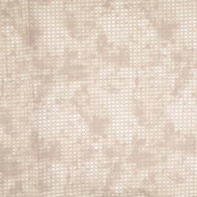 Pamutvászon pixel mintás drapp