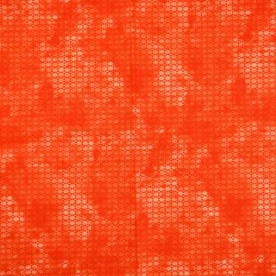 Pamutvászon pixel mintás narancs