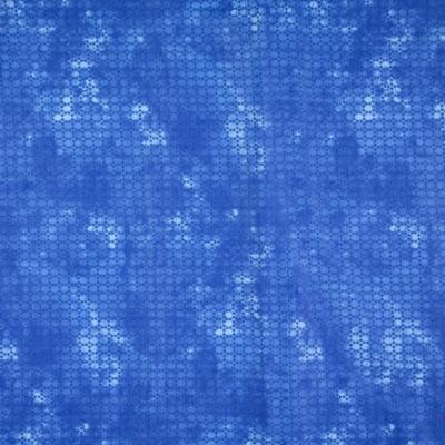 Pamutvászon pixel mintás királykék