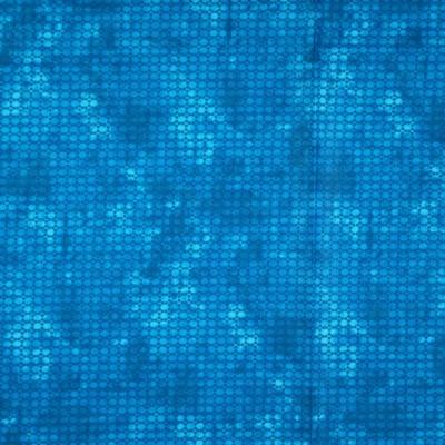 Pamutvászon pixel mintás sötét türkiz