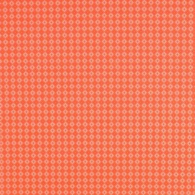 Pamutvászon rombusz-virág narancs