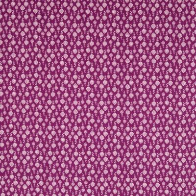 Pamutvászon mákvirág lila