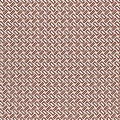 Lonetta vászon barna geometrikus téglák