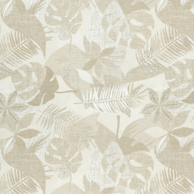 Lonetta vászon natúr nagy leveles
