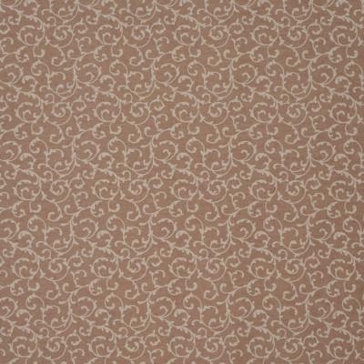 Lonetta vászon sűrű inda mintás pasztell ózsaszín